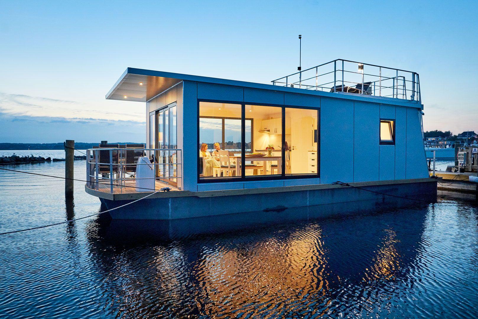 hausboot ostsee kaufen ruegen daenemark Hausboot