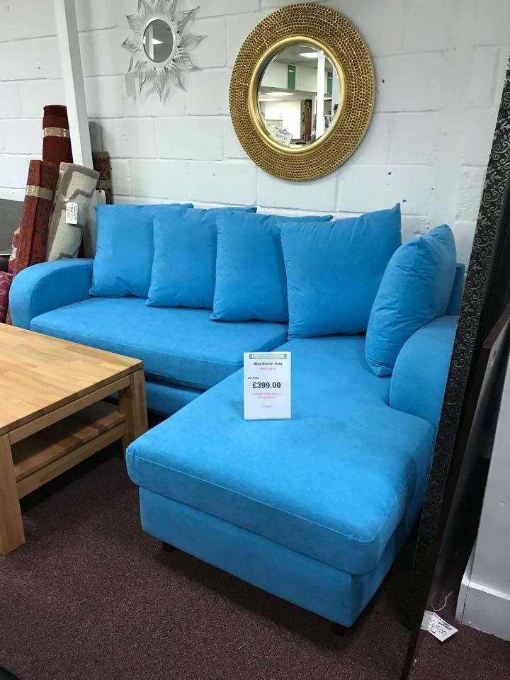 Blue Corner Sofa 399 sofa cornersofa