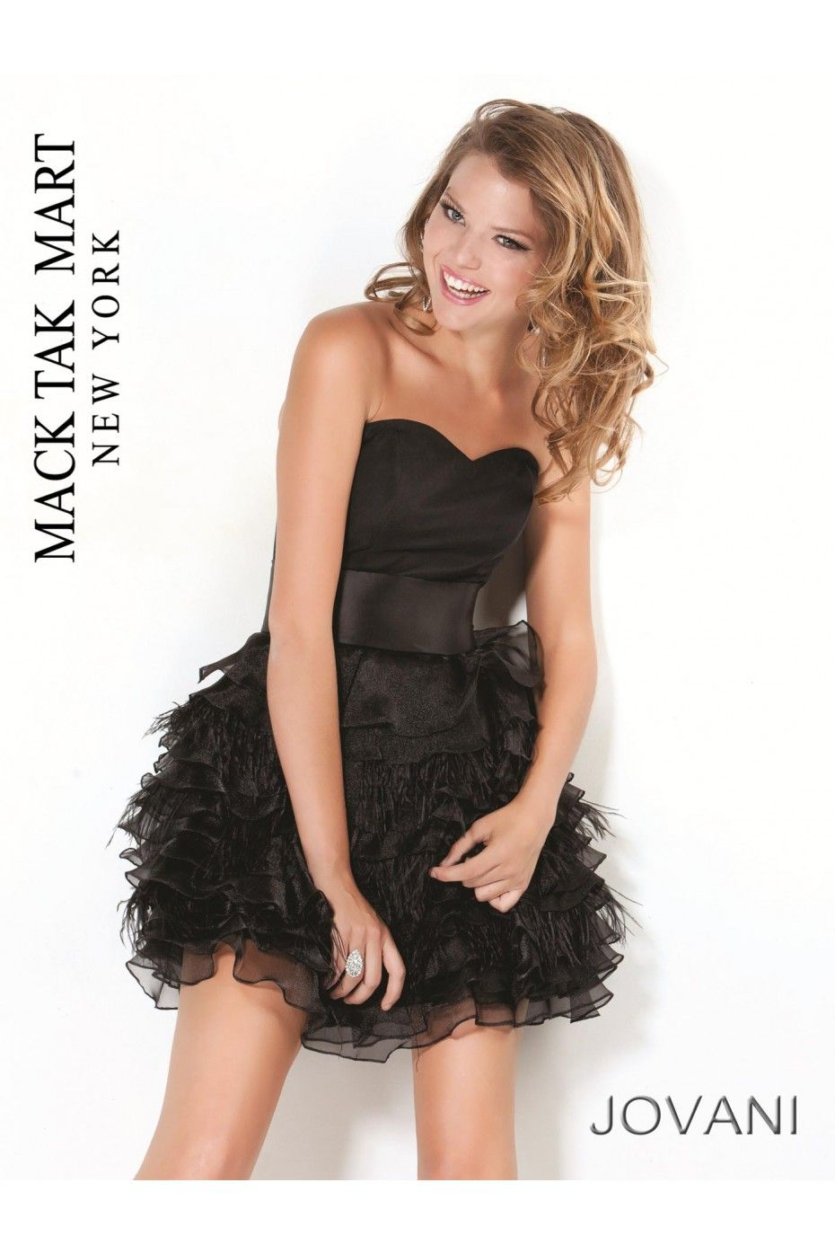Jovani black prom dress short strapless beauty pinterest