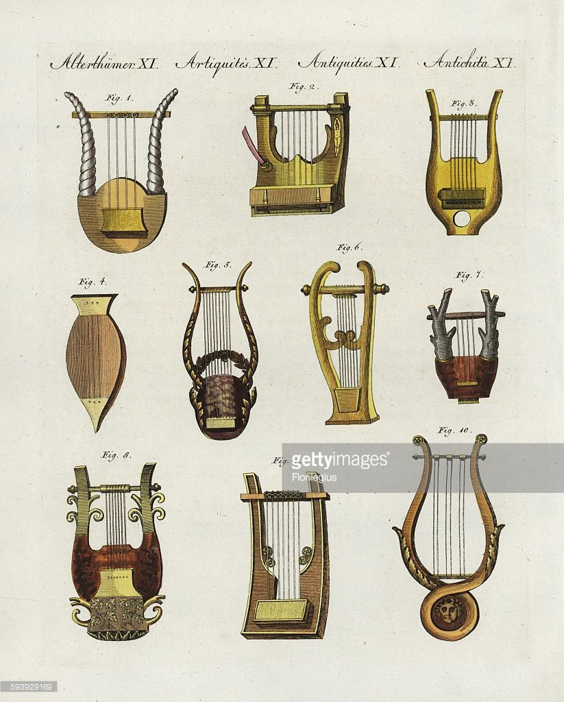 ancient-greek-and-roman-musical-instruments-different-forms-of ...