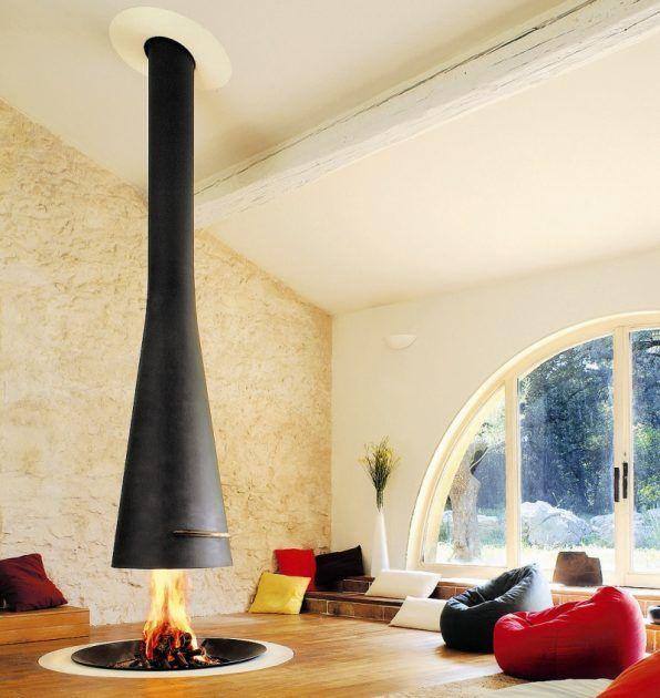 Offener Kamin Lagerfeuer Romantik Furs Wohnzimmer Planungswelten Kaminofen Modern Kamin Design Wohnen