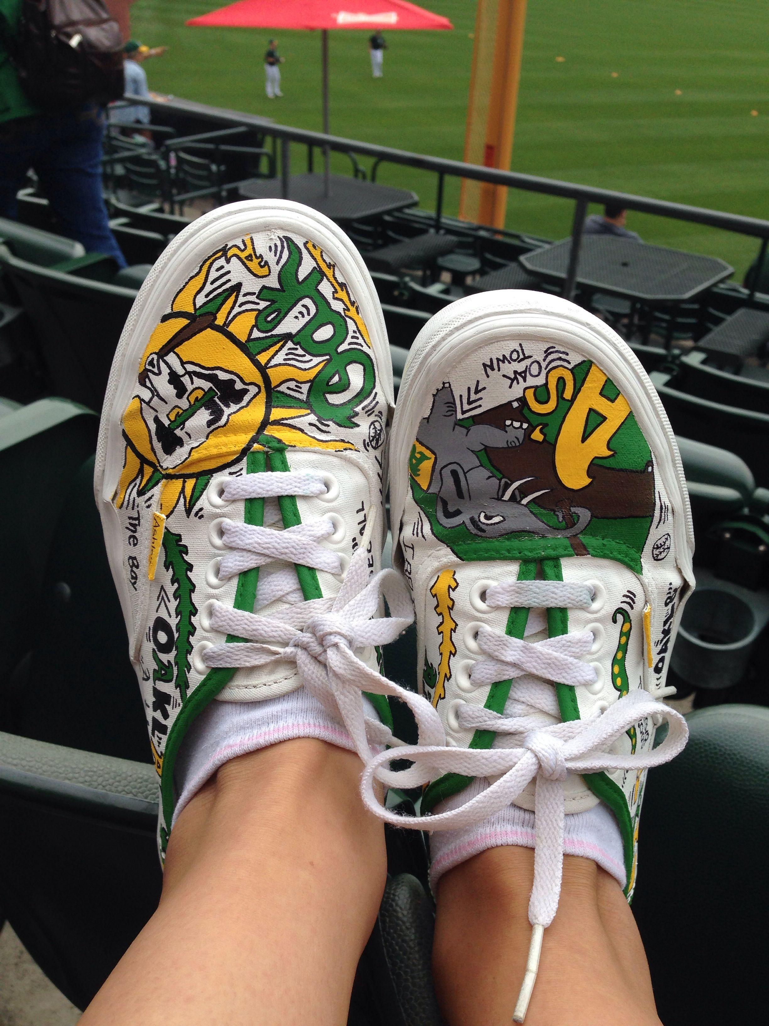 oakland athletics vans chaussures