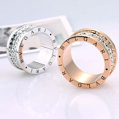 High Quality Alloy Crystal Ring(Assorted Color) - Women's Jewelry