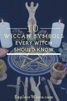 Discover these uniquely #wiccan symbols and why they're so important to the serious #witch! #witchcraft #pagan #magick #wiccanspells