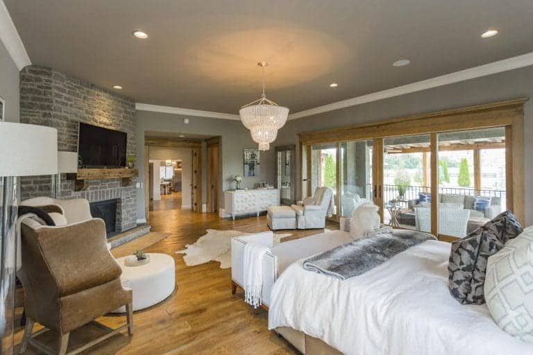 70 Primary Bedrooms With Sitting Areas Sofa Chairs Chaise Lounge Master Bedroom Sitting Area Bedroom With Sitting Area Rustic Master Bedroom