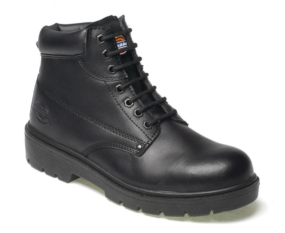 Dickies - Calzado de protección de Piel para hombre marrón marrón us0JP