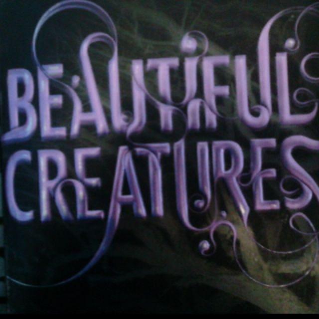 Beautiful Creatures. Great book!