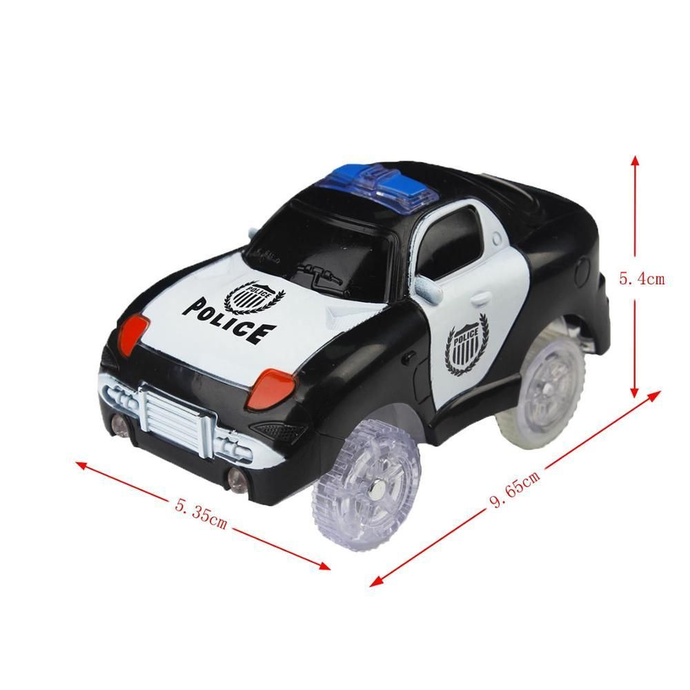 Tracks Cars Led Light Electronics Car Tracks Toy Parts Car For