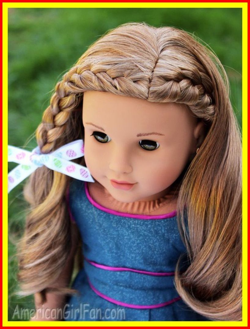 Image Result For Cute Doll Hairstyles Dollhairstyles American Girl Hairstyles American Girl Doll Hairstyles Ag Doll Hairstyles