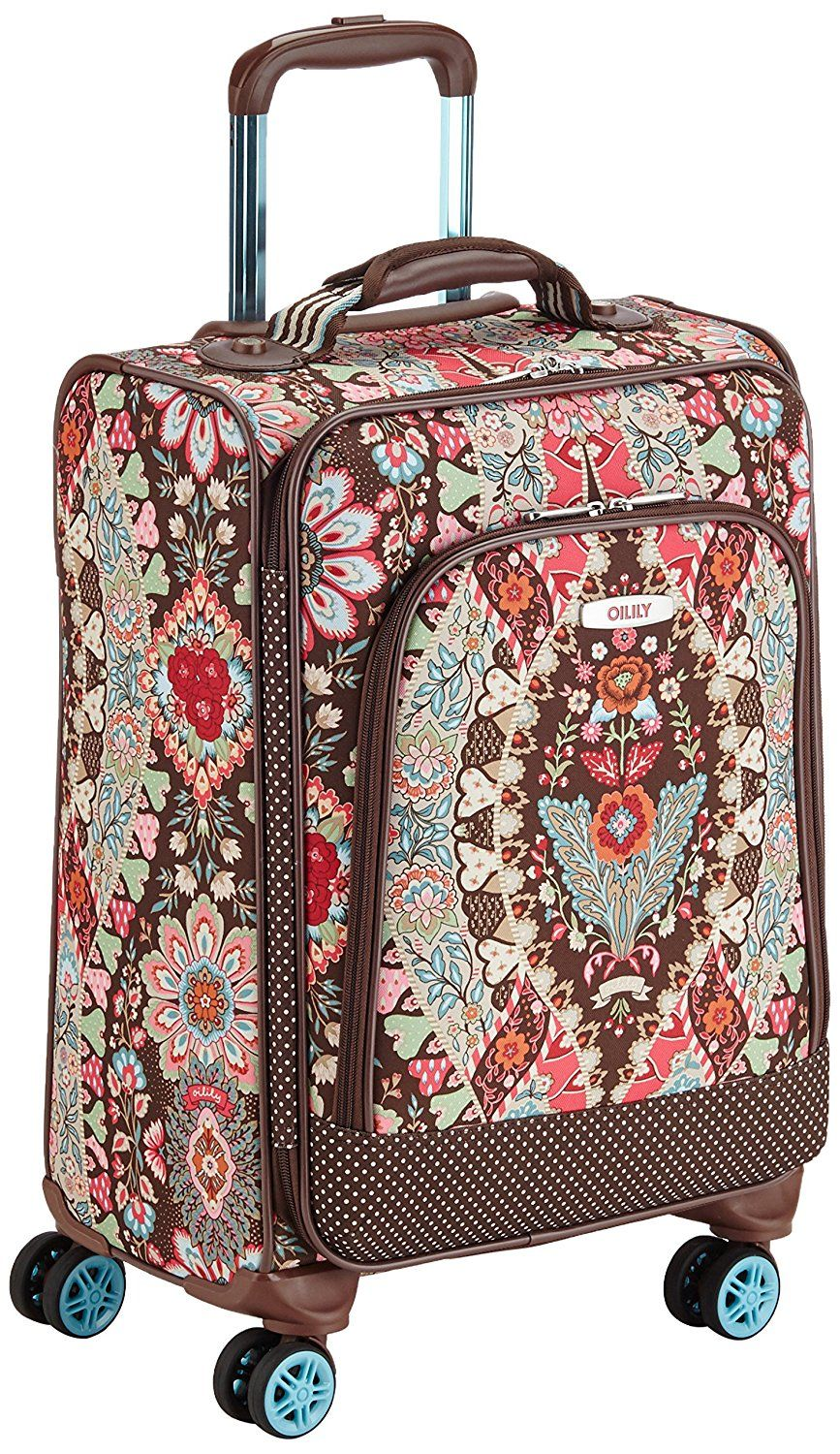 Handgepäck Trolly Oilily Travel Trolley Small Spinner Additional Details At The