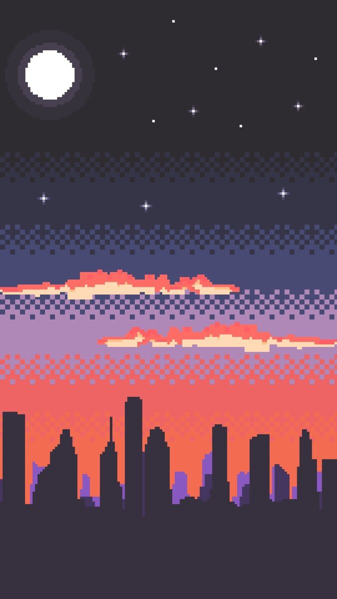 Here S This Pixel Art I Made Of Houston S Skyline Houston Skyline Pixel Art Pixel Art Landscape