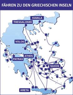karte fährverbindungen italien griechenland Fähre Griechenland | Fähren Italien Griechenland | goFerry.de in