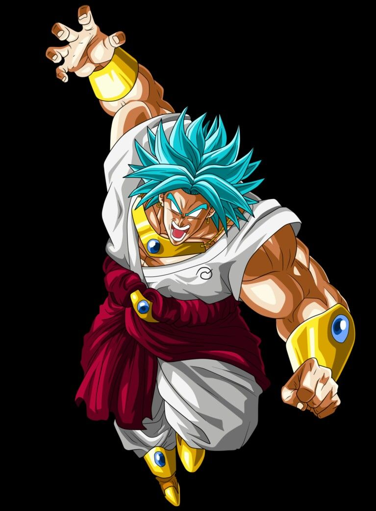 The legendary super saiyan god broly follow ryley - Broly dragon ball gt ...