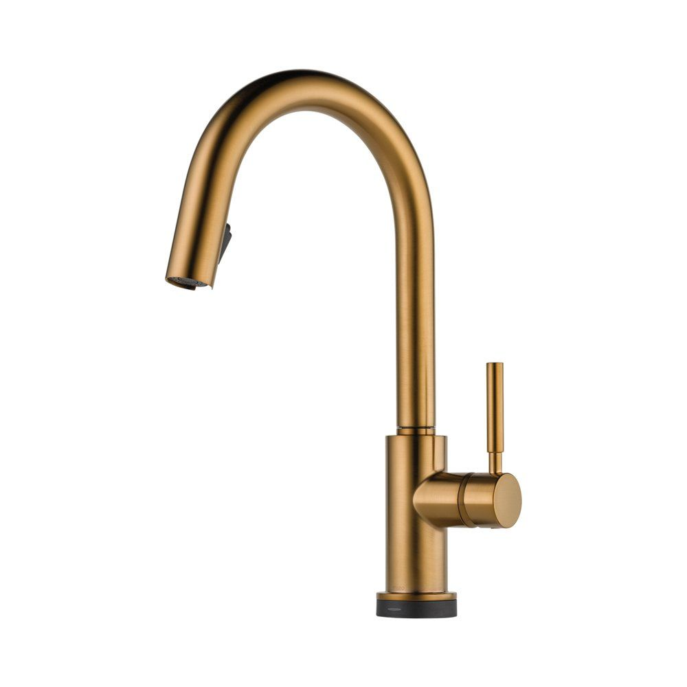 Brizo 64020lf Bz Solna Kitchen Faucet Single Handle With Multi Functional Pull Down