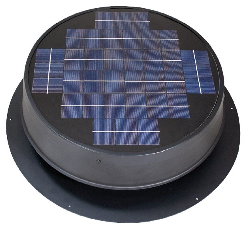 Ultra Low Profile 24 Watt Natural Light Solar Attic Fan You Can Get Additional Details At The I Solar Attic Fan Solar Powered Attic Fan Solar Energy Panels