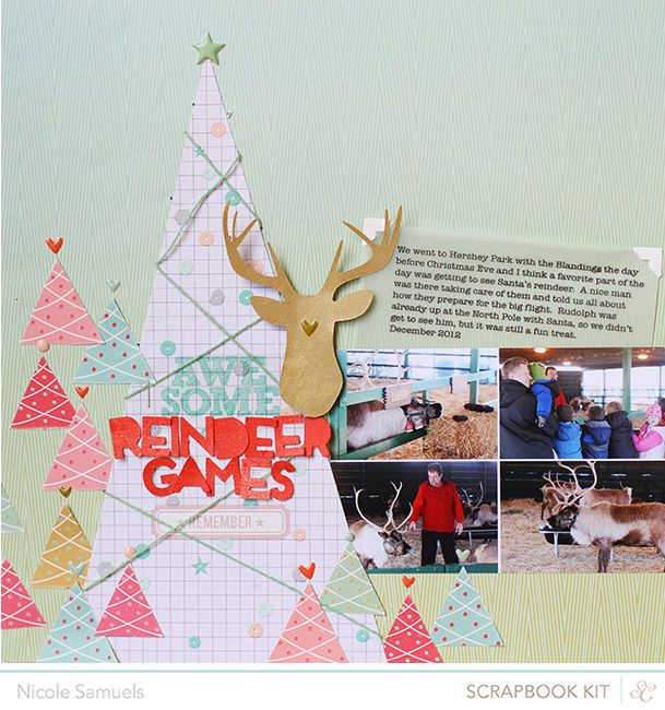 Reindeer Games by NicoleS at @Studio_Calico #SCbluenote