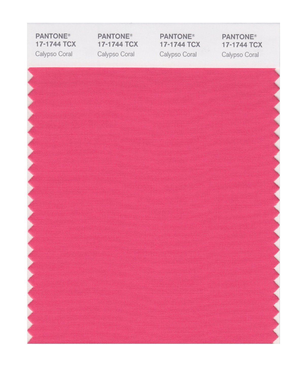 PANTONE SMART 17-1744X Color Swatch Card, Calypso Coral - Amazon.com