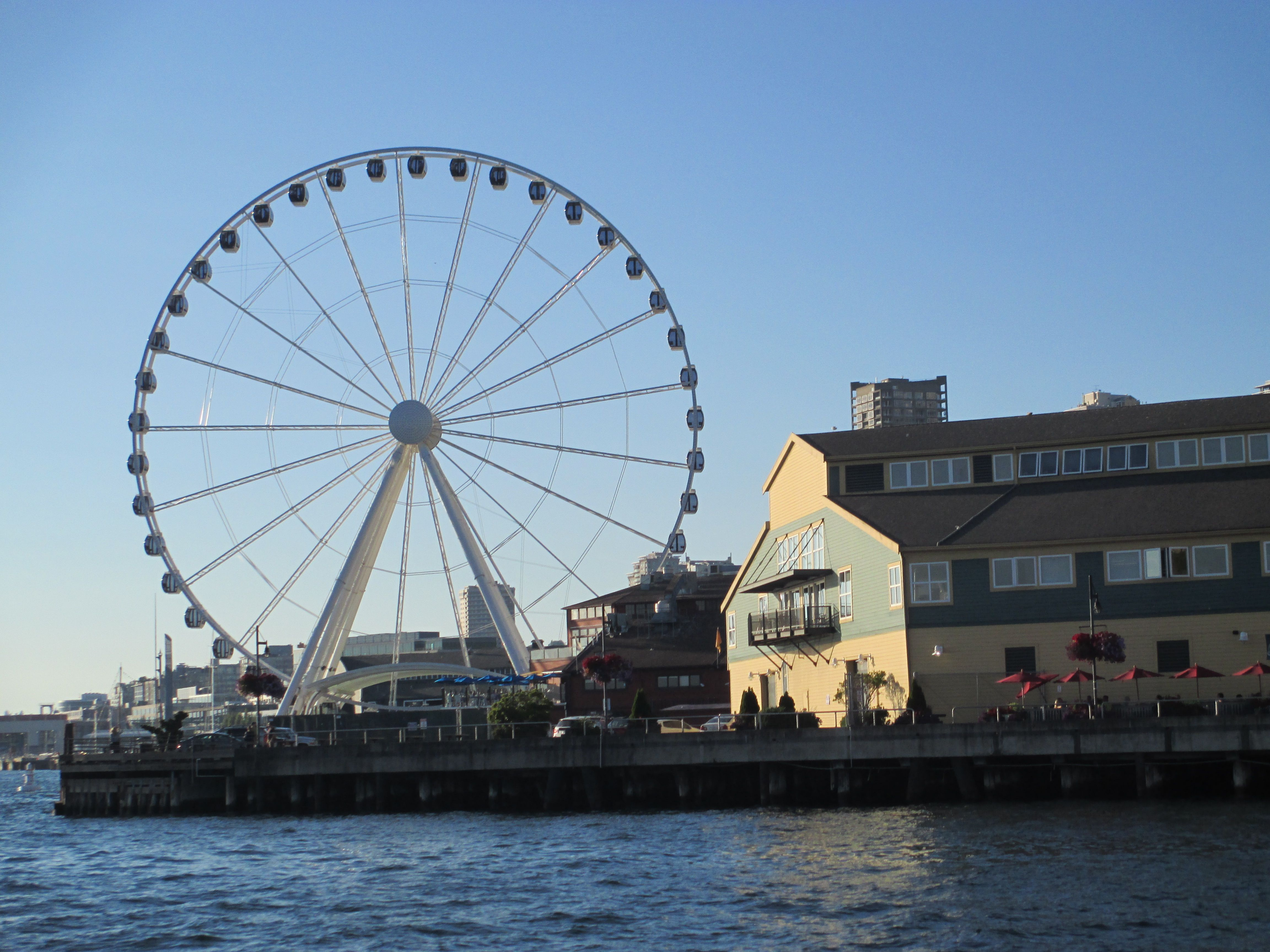 Seattle Map Lake Union%0A The Seattle Great Wheel opened to the public on June           Here are