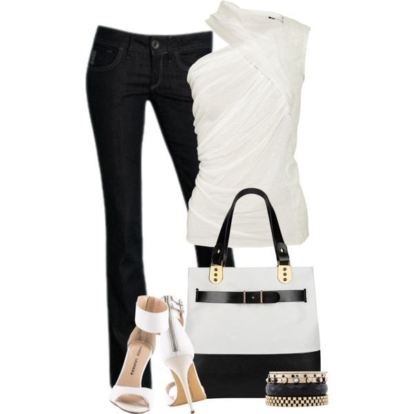 Untitled #3025 by lisa-holt on Polyvore featuring polyvore, fashion, style, Rick Owens, G-Star, Iosselliani, Chinese Laundry and Christian Louboutin