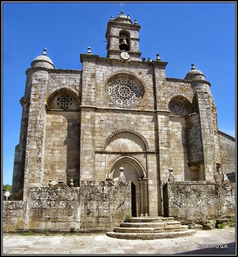 Galicia Pueblo A Pueblo Santa Mariña De Aguas Santas Santa Marina Marina Pueblo