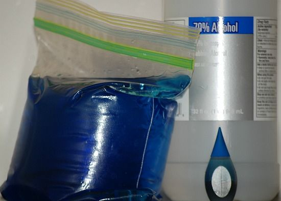 Make your own Blue Ice - so simple