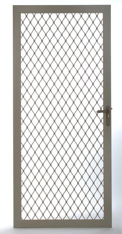 Not The Door But The Metal Screen Security Screen Door