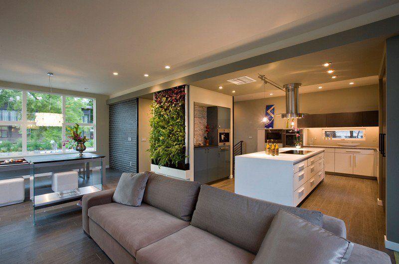 Cuisine Ouverte Sur Salon En 55 Idées ''Open Space'' Superbes | Room