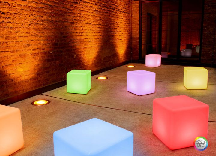 Cubes Lumineux Led Sans Fil Et Rechargeables