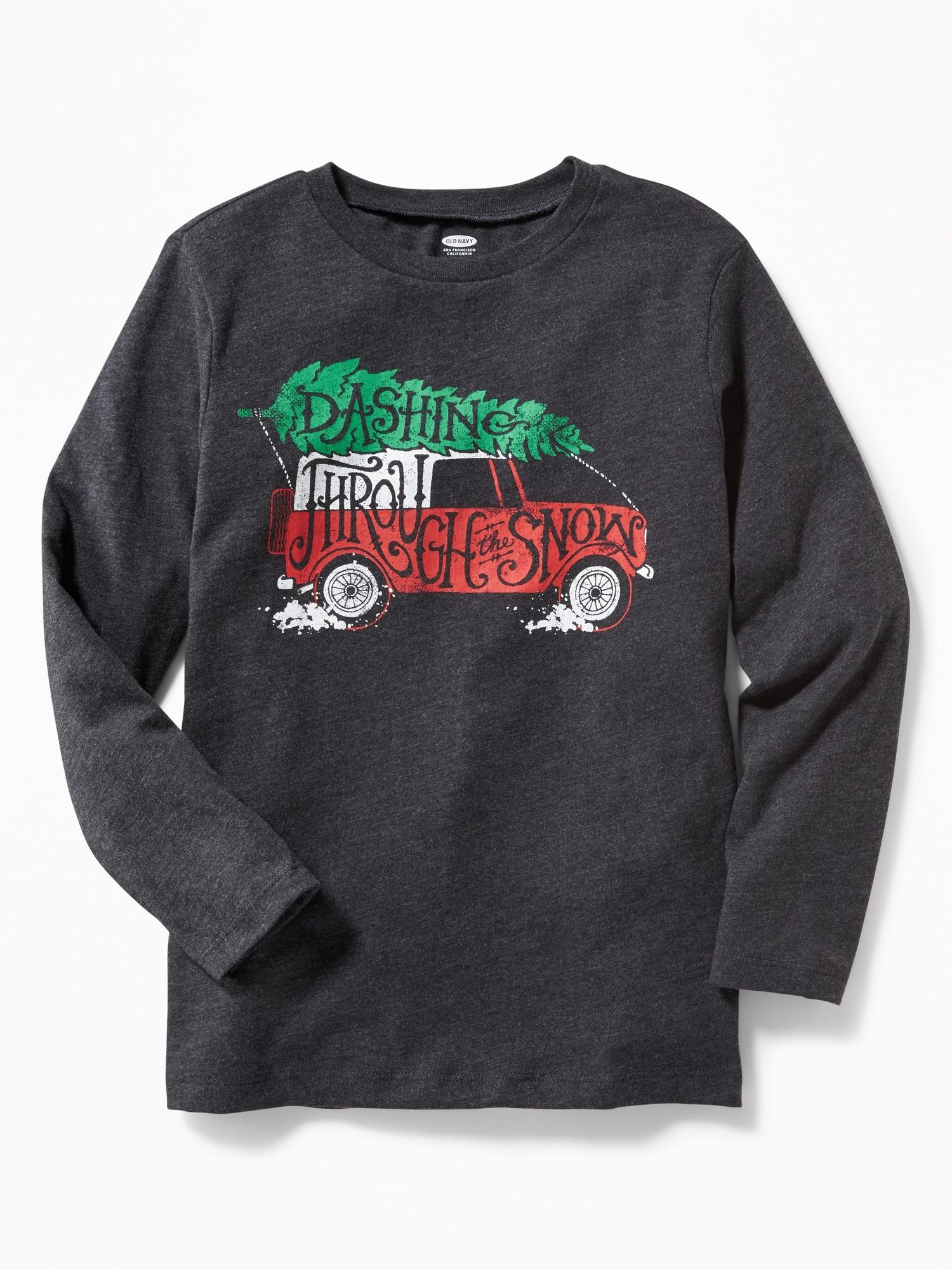 Christmas Graphic Tee for Boys | Old Navy | winter | Pinterest ...