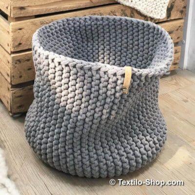 Photo of Textilgarn & Bändchengarn und dicke Wolle • Ideen und Beispiele zum Stricken …