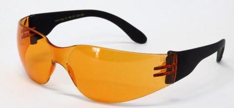 11964ae2f1 Orange lens motorcycle glasses for night riding and low light situations  improve night vision plus make
