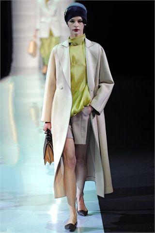 Sfilate Emporio Armani Collezioni Autunno Inverno 2013-14 - Sfilate Milano - Moda Donna - Style.it