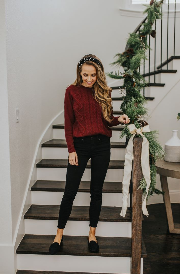 2 Christmas Party Outfit Ideas (Dressed Up, Dressed Down) | Merrick's Art