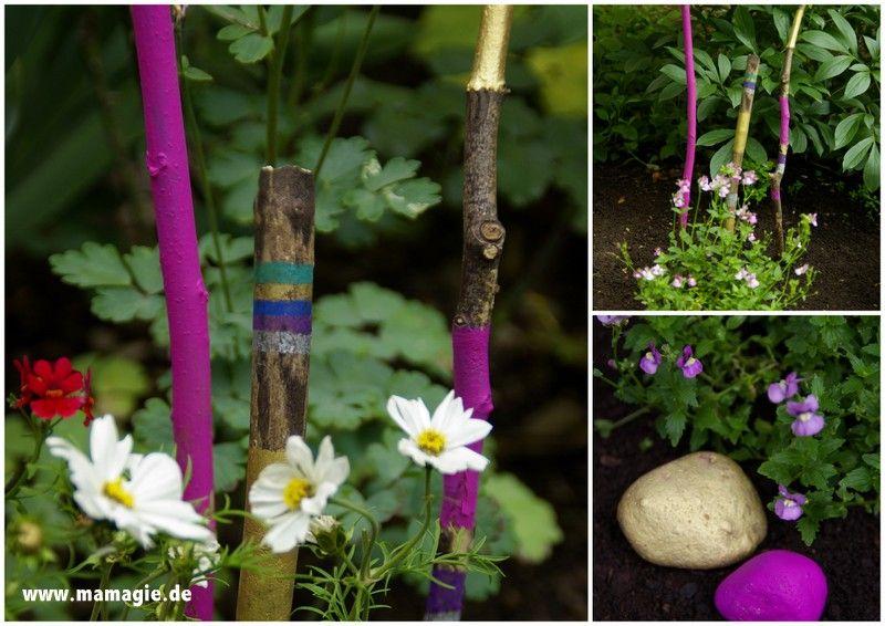 Gartendeko basteln mit kindern  Mit Kindern für den Garten basteln / Kids crafts for the garden ...