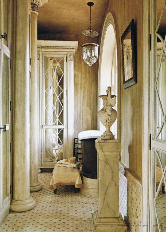 Bathroom inspiration  The Enchanted Home: Beautiful belljars.......