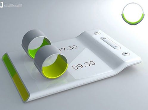 Couples Alarm Clock Ring