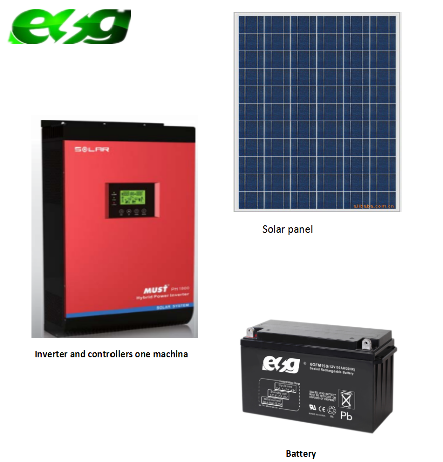 10kwh Solar Panel Electricity Generating System For Home Solar Panels