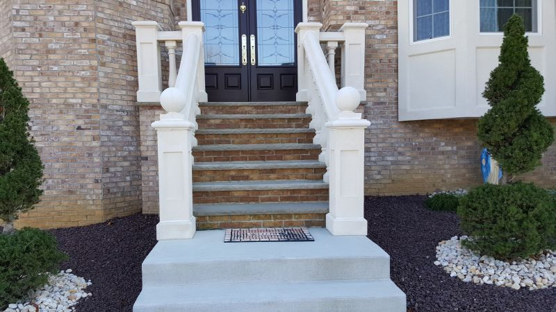 Concrete Balustrade   Patio stairs, Stair balusters, Stair ...