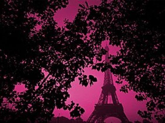 Paris 3 Pink And Black Wallpaper Pink Wallpaper Pink Paris Wallpaper Cool pink paris wallpapers