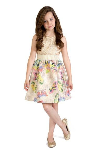981b2d339b BLUSH by Us Angels Sequin Tank Party Dress Big Girl Clothes, Brocade Dresses,  Sequin