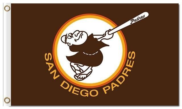 San Diego Padres Flag World Series Champions Baseball Fans Team Flags Banner 90x150cm Banners In 2020 San Diego Padres San Diego Padres Baseball Padres Baseball