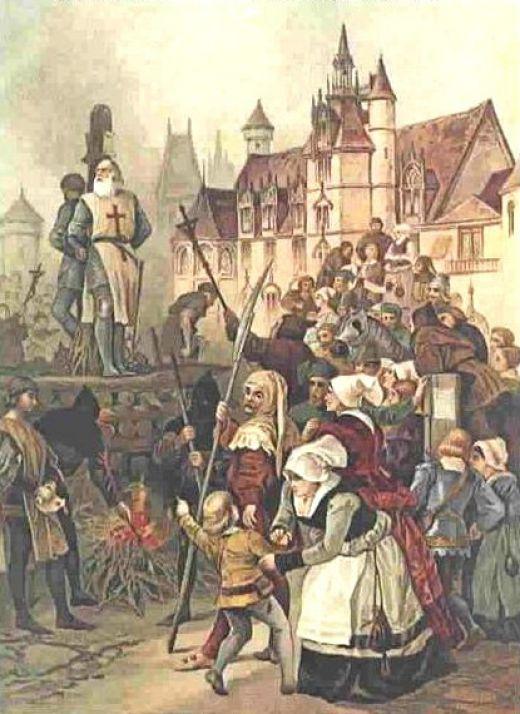 13 de octubre: en Francia, los Caballeros Templarios, son entregados a traición a la Inquisición | Casa de la Historia