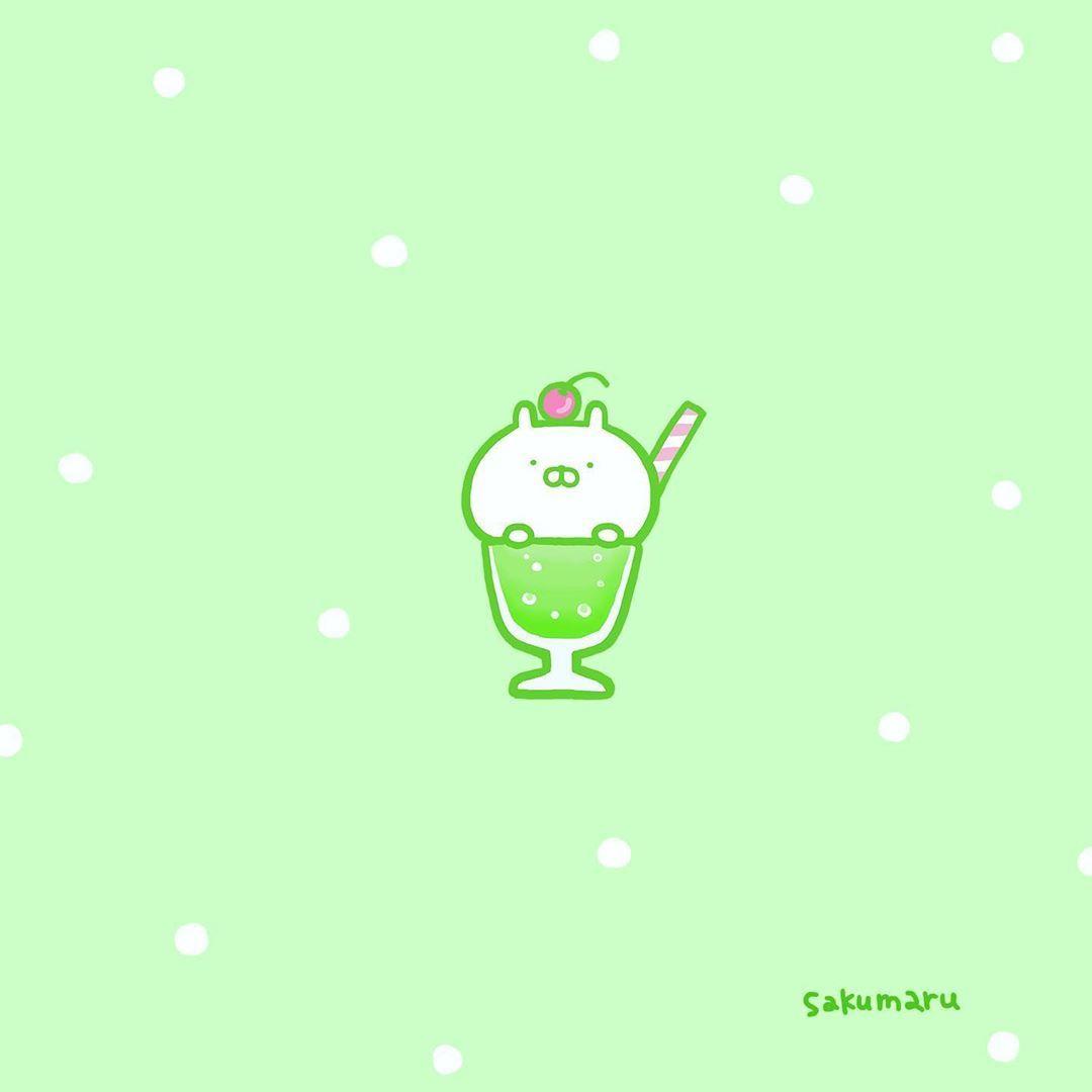 いいね 17千件 コメント123件 Sakumaru うさまる Sakumaru のinstagramアカウント しゅわしゅわ𓈒𓏸𓂂 うさまるメロンソーダ うさまる メロンソーダ クリームソー In Kawaii Wallpaper Kawaii Wallpaper