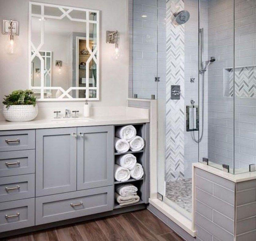48 Simple Master Bathroom Renovation Ideas | Bathroom ...