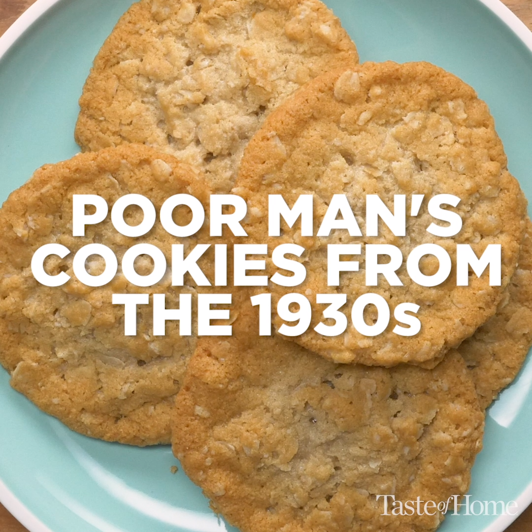 Poor Man's Cookies #cookies