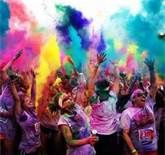 Doing the Color Run every year in a different state