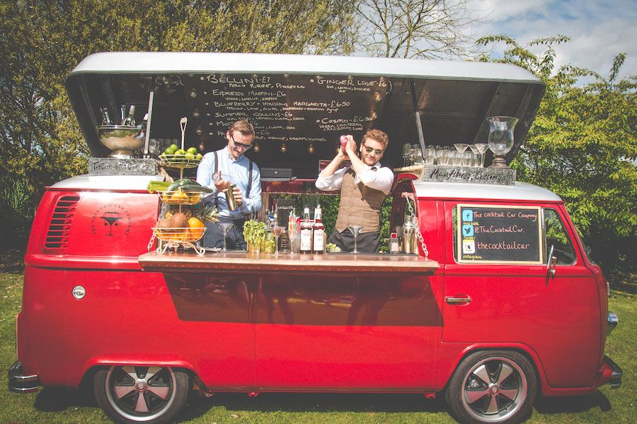 The Cocktail Car Company - Something different for your Wedding