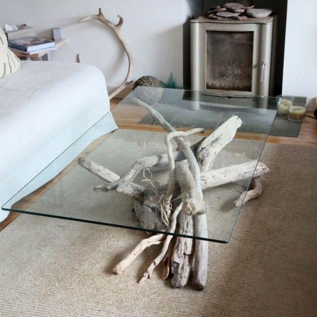 Fesselnd Treibholz Tisch Rustikale Möbel Selber Bauen