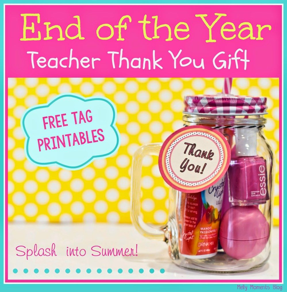 Teacher Appreciation week is almost over, but it's never too late to let an educator know how special they are!  This is the perfect present for teachers of any grade level, from preschool al…