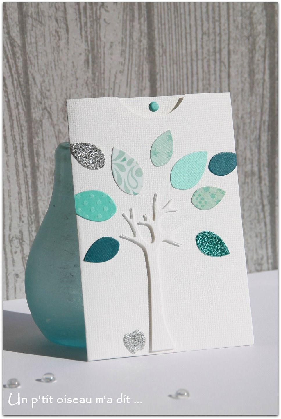 faire part de naissance pochette arbre d 39 automne gar on scrapbooking pinterest pochettes. Black Bedroom Furniture Sets. Home Design Ideas